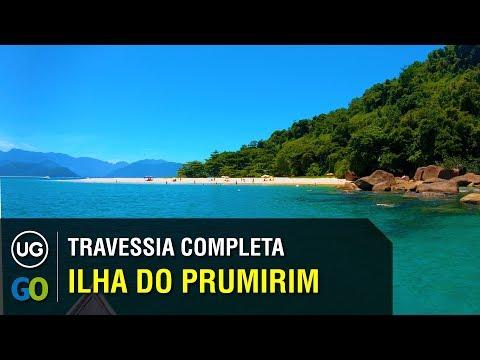 Como ir para a Ilha do Prumirim em Ubatuba - Travessia completa a partir do Félix de lancha
