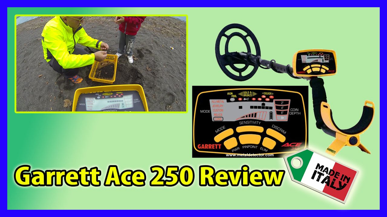 Новинка! Обзор Garrett ACE 300i и сравнение с Garrett ACE 250 .