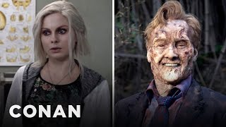 rose mciver conan swap zombie makeup stories conan on tbs