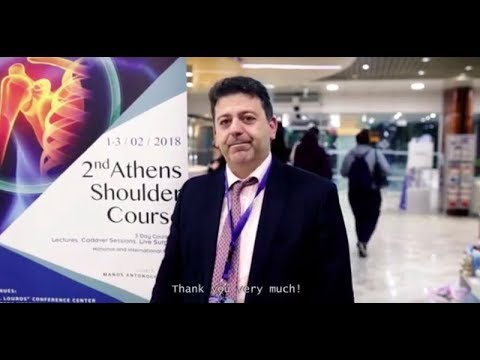Athens Shoulder Course 2018 - Post Course Video