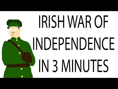Irish War of Independence    3 Minute History