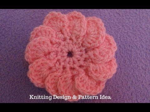 Crochet Flower In Hindi