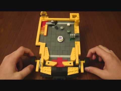 lego mini pinball machine youtube. Black Bedroom Furniture Sets. Home Design Ideas