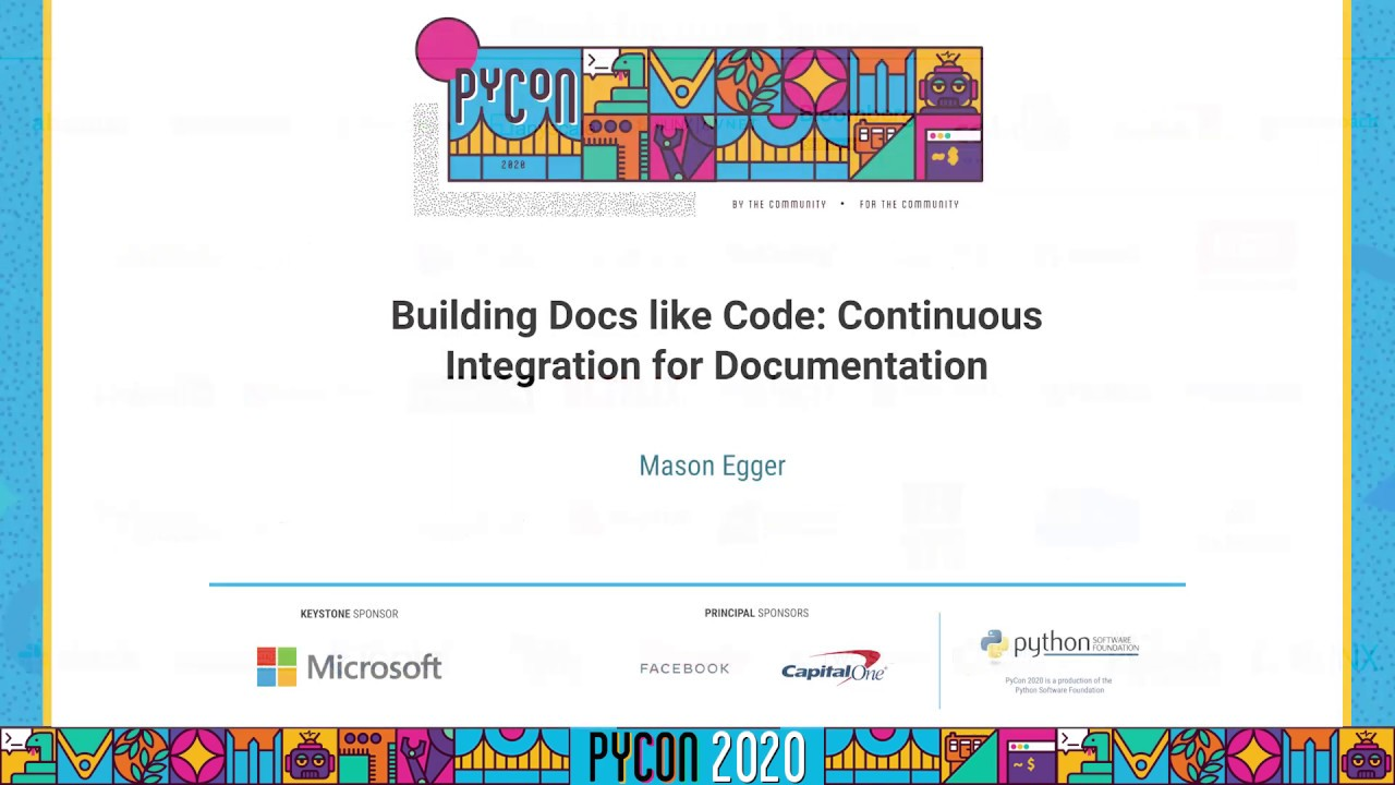 Image from Building Docs like Code: Continuous Integration for Documentation
