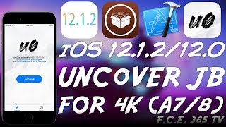 iOS 12.1.2 12.0 Unc0ver JAILBREAK UPDATED FOR iPhone 5S 6 4K - A7 A8