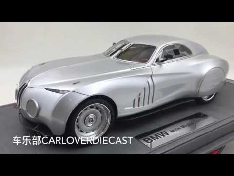 BBR - BMW Mille Miglia Concept resin scale 1:18 New arrival Limited 50 pcs World wide