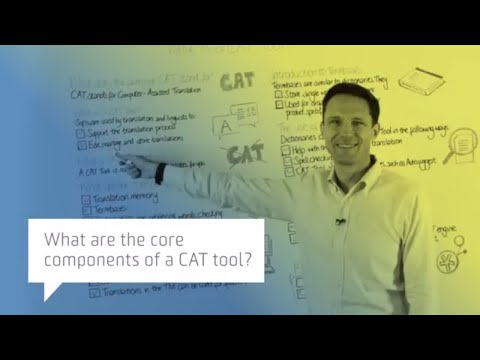 What are the core components of a CAT tool?