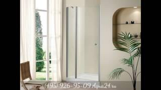 Обзор душевых дверей в нишу от Aqua24.ru