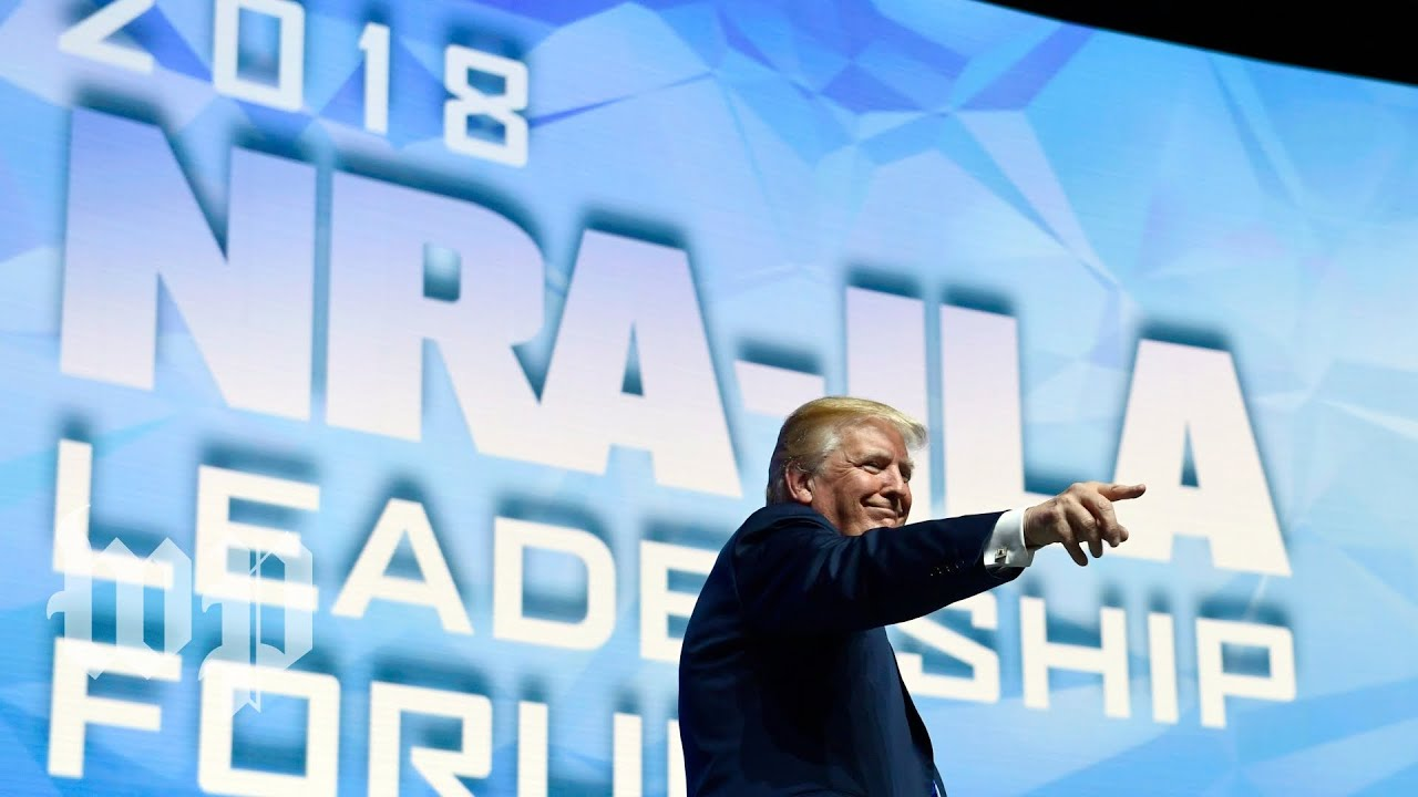 Watch Trump's full speech at the NRA Convention
