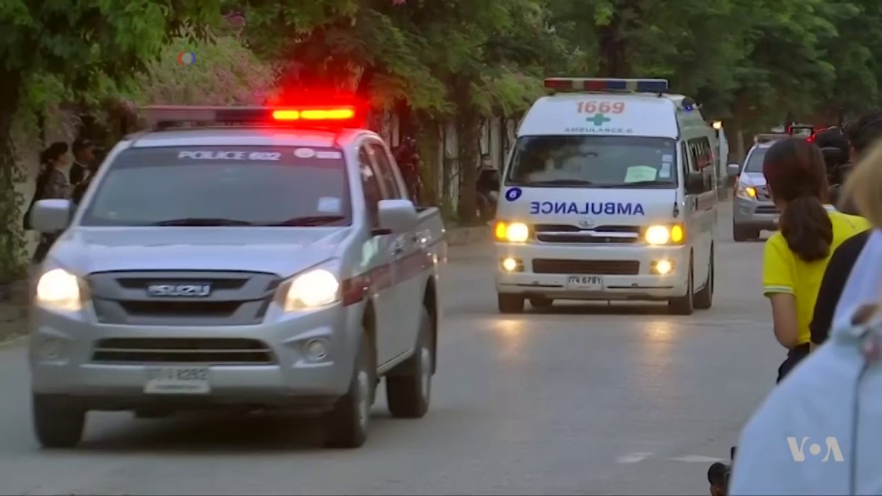All 12 Boys and their Coach Rescued from Thai Cave