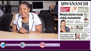 MCL MAGAZETINI SEPTEMBA 29, 2017: MWIGULU ABANWA MAUAJI, UTEKAJI, MASHAMBULIZI