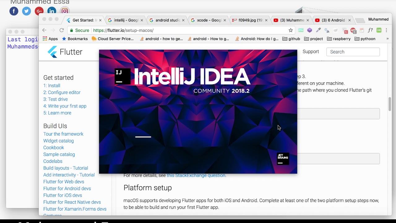 7 Install Flutter & Dart SDK on Mac OSX