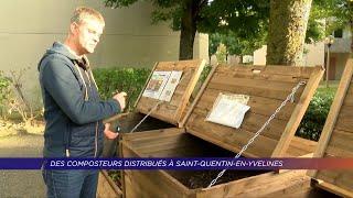 Yvelines | Des composteurs distribués à Saint-Quentin-en-Yvelines