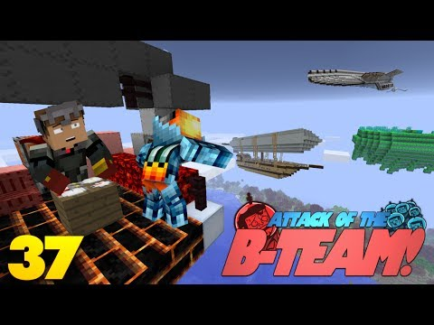 Minecraft SHIPS MOD! Archimedes Ships Mod! Attack Of The B-Team Modded Survival (37)