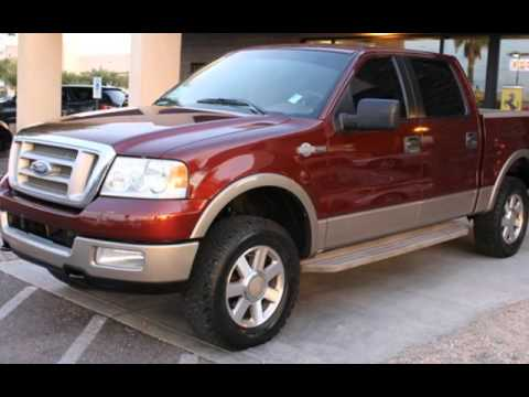 2005 ford f 150 crew cab king ranch 4wd for sale in phoenix az youtube. Black Bedroom Furniture Sets. Home Design Ideas