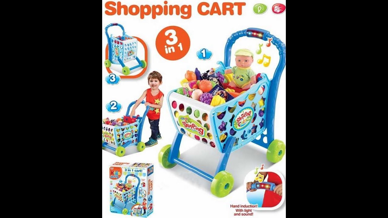d601e14ebfb92 Sahi Doing Shopping - Supermarket Song - Kids Mini Car Shopping Cart ...