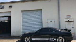DROVE A FRICKEN R34 GTR