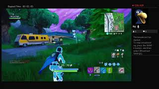 Fortnite Live Stream | Breaking Point Skin