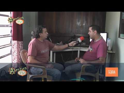aventura Tv Paraguay entrevista a Luis Alberto Taboada Radio Taturana CDE