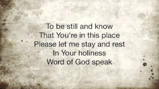 Word of God Speak Kutless