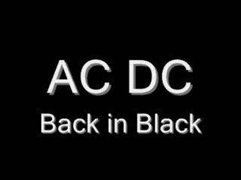 Back in Black FREE MUSIC DOWNLOAD