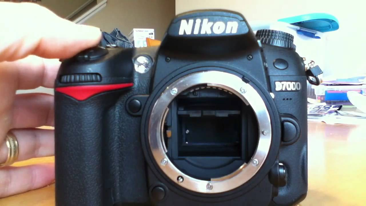 Nikon D7000 Mirror Stuck The Dreaded Err Code Youtube Lens Parts Diagram Where To Get For A D5000 Slr