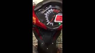 Setting Sprocket Rs150r