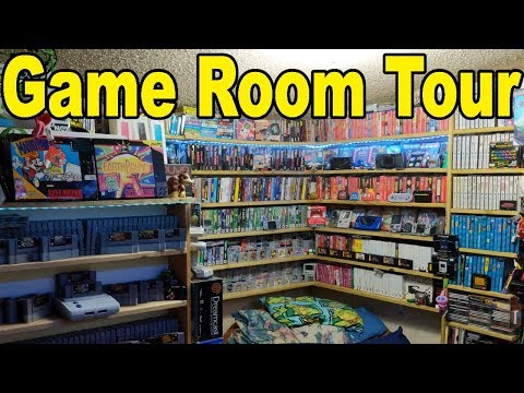 OFFICIAL GAME ROOM TOUR - 2018 - 5000+ GAMES!