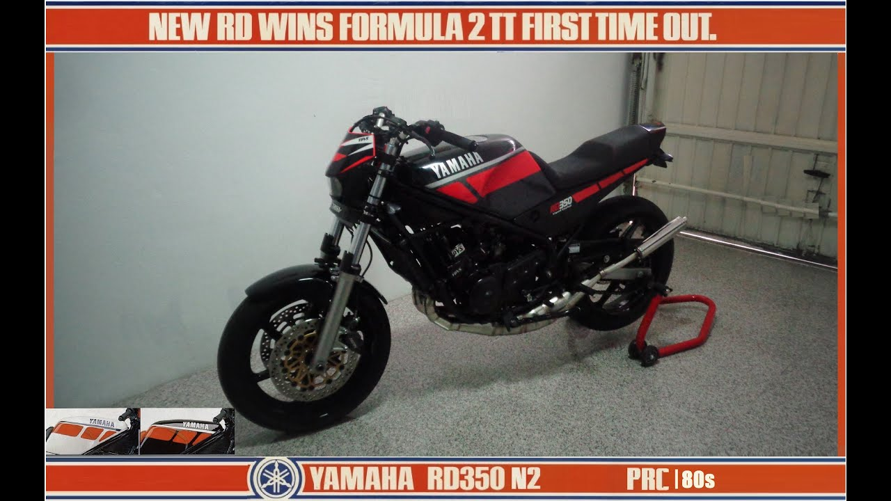 yamaha rd 350 lc ypvs n2 1986 prc 2 tempos pt. Black Bedroom Furniture Sets. Home Design Ideas