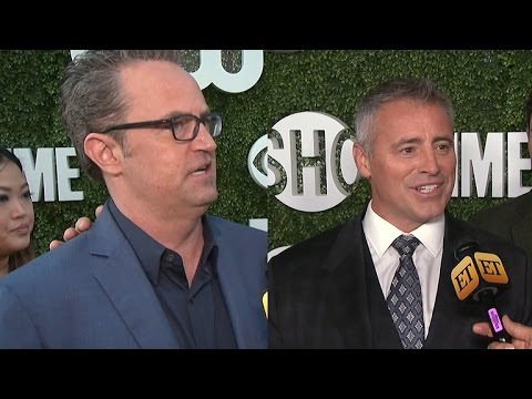 Thumbnail: Matthew Perry and Matt LeBlanc Dish on Their Mini 'Friends' Reunion