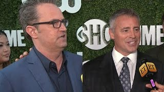 Matthew Perry and Matt LeBlanc Dish on Their Mini 'Friends' Reunion