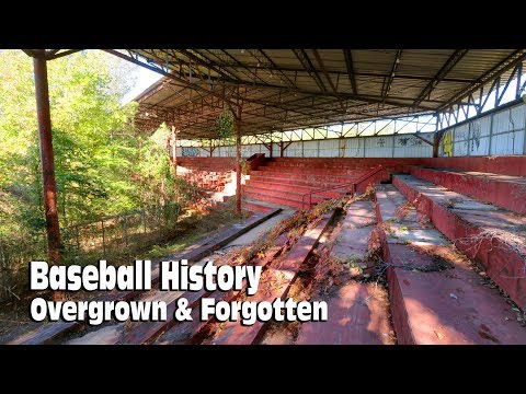 1930's Baseball Stadium Abandoned in the Woods