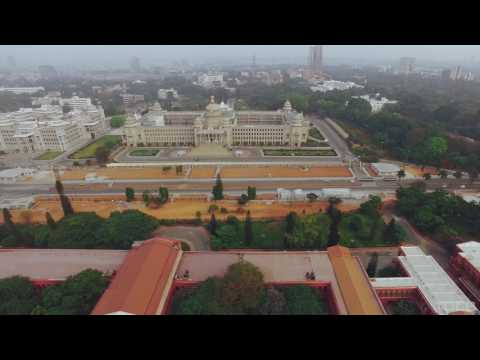 Bangalore   Silicon Valley of India   Aerial Drone Video in 4K   YouTube 1080p