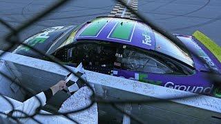 Denny Hamlin wins at Chicagoland