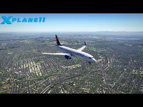 X Plane 11 San Francisco KSFO Landing | Realistic