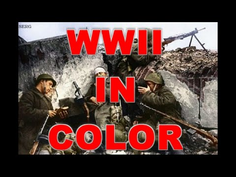 WWII Documentary in Color: The End HD