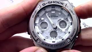 Годинник Casio G-SHOCK GST-W110D-7A - Інструкція, як налаштувати від PresidentWatches.Ru