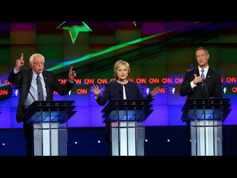 Democratic presidential debate in 90 seconds