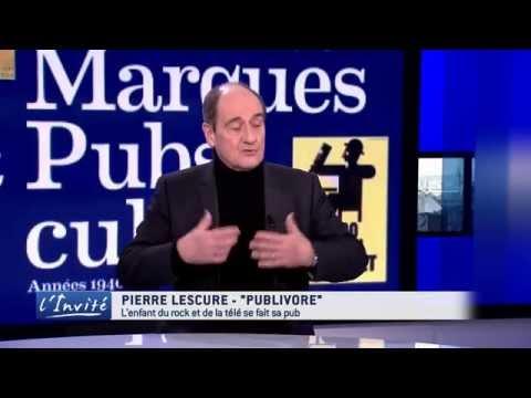 """Pierre Lescure : """"La publicité m'a toujours fait rêver"""""""