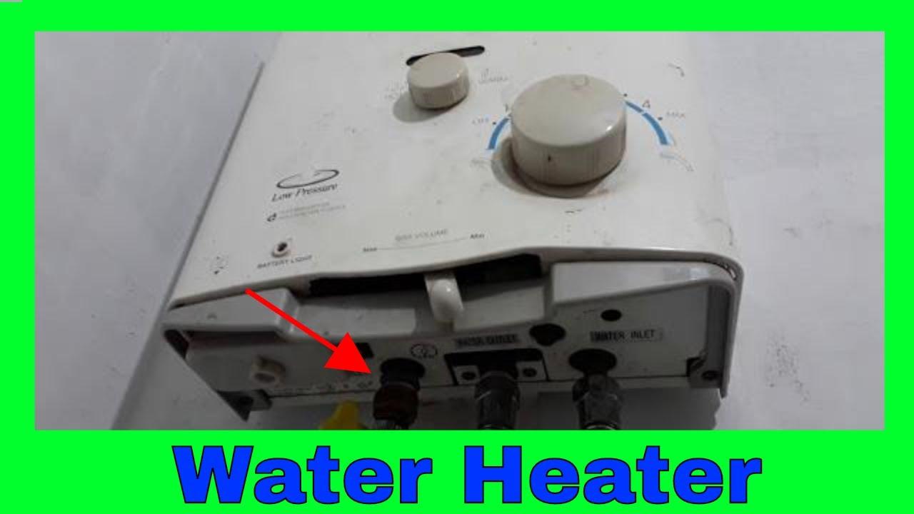 Memasang Pemanas Air Water Heater Gas Merk Wasser Instalasi Pemanas Air Gas Youtube