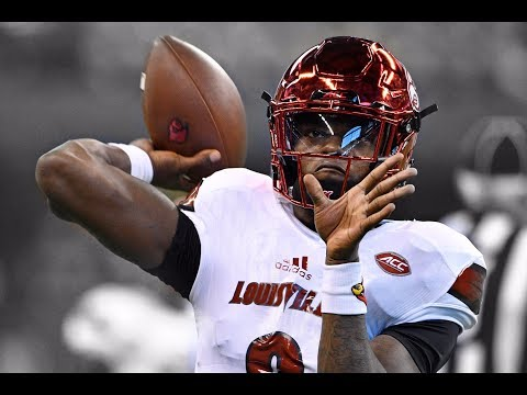 Lamar Jackson 2017 Louisville Highlights - Truth Be Told