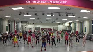Sia - The Greatest ft. Kendrick Lamar by KIWICHEN Zumba