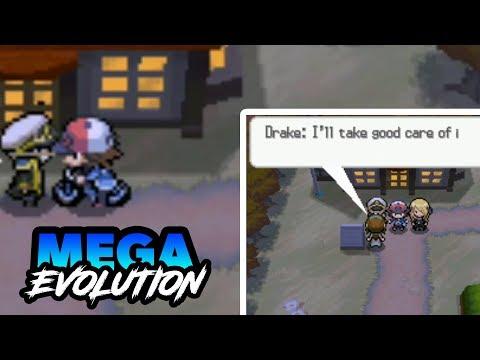 COMPLETED POKEMON NDS ROM HACK WITH MEGA EVOLUTION+OMEGA EVOLUTION & 7TH GEN!