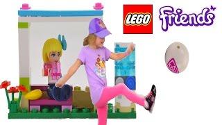 Girl vs. Minidoll - Lego Friends Soccer Practice animation - Score the goal!