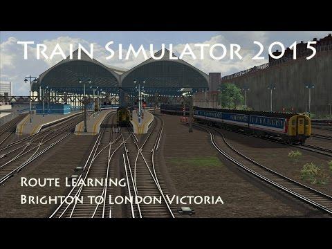 Train Simulator 2015 - Route Learning: Brighton to London Victoria (Class 421)