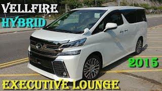 Король Минивэнов Toyota Vellfire (Alphard) Hybrid Executive Lounge 2015 год