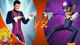 we are number one but it s robbie rotten vs waluigi cartoon fight club episode 134 reaction