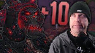 FRIENDS OR LOOT? - Classic WoW Talk & Mythic+ 10 Darkheart Thicket Highlights - Legion 7.3.2
