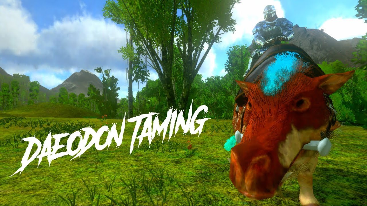 Ark Mobile Daeodon Taming Info And More Youtube Admincheat summon daeodon_character_bp_c or admincheat spawndino blueprint'. ark mobile daeodon taming info and more