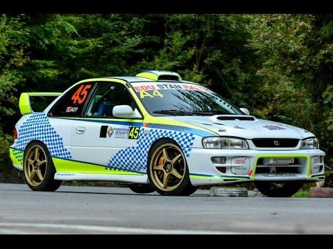 Subaru Impreza STI Coupe GC8 Maximum Attack Hillclimb Brasov by Rallyzoom.ro -Driver Ady Sotingeanu